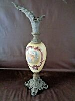 Hand Painted Antique Victorian Style Ewer