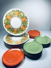 Boonton Melmac Dinnerware Melamine Set 28 Pcs Vtg Usa Assorted Picnic Patio