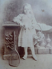 Victorian Cabinet Card Photograph by Hellis & Sons London