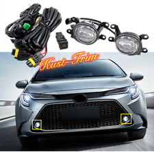 FIT For Toyota Corolla 2020 L/LE/XLE Refit LED  Front Bumper Fog Lights lamp Kit