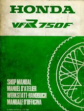 Honda VFR750F 1986 Shop Manual