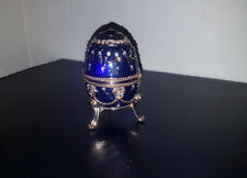 Faberge Egg Musical Trinket Box
