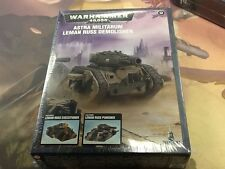 40K Warhammer Astra Militarum Leman Russ Demolisher Executioner Punisher Sealed