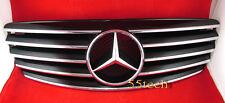 Mercedes Benz W211 Grill E320 E500 E55 Grille  CL Style 5 FINS Style 03~06
