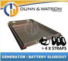 125kg Fridge, Generator, Battery, BBQ Slide (Slideout Pullout Out Sliding Honda)
