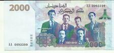 ALGERIA 2000 DINARS 2020  P NEW. COMMEMORATIVE. UNC CONDITION. 9RW 12ABRIL