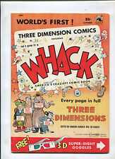 WHACK #1 (6.0) 3 DIMENSION COMICS 1953