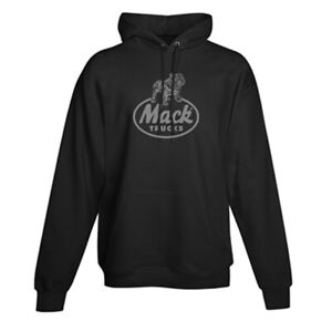 Mack Trucks Retro Logo Champion Sweatshirt Hoodie New (Large)