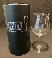 "Riedel Crystal Sommeliers Burgundy Grand Cru Wine Glass Goblet 10"" H Many In Box"