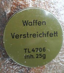BW Waffenfett 25g Waffenöl Waffenpflege Reinigung Verstreichfett Bundeswehr