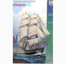 Zvezda 1/200 scale  French Frigate 'Acheron' naval ship model kit