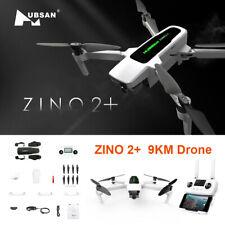 Hubsan Zino 2+ Drone 9KM Wifi FPV RC  W/4K Camera 3-Axis Gimbal Quadcopter US