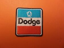 """DODGE"""" AUTO EMBROIDERED IRON ON PATCHES 2-3/4 X 2-3/4"""