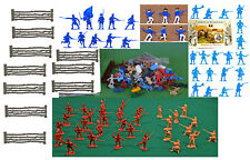 American Revolution Grab Bag - approx 2 pounds of toy soldiers & accessories