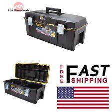 STANLEY Black Tool Box 28 in. FATMAX Structural Foam Part Storage Organizer
