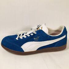 Puma Liga Suede Sneakers Mens Athletic Shoes Royal Blue White Retro Style Men 10