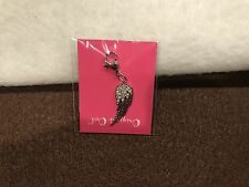 Pave Wing w/Swarovski Crystals Dg4069 Origami Owl Dangle (new) Silver