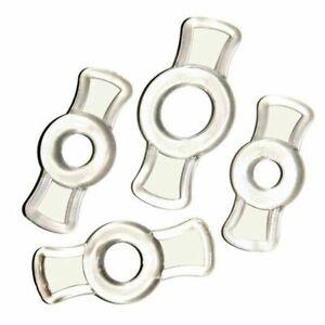4* Male Endurance Penis Ring Set Cock Rings Enhancement Delay Ejaculation