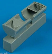 Quickboost 1/48 P47 Thunderbolt Oil Cooler Exhaust 48291 for Tamiya