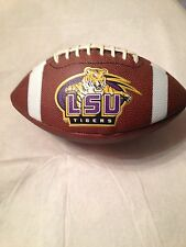 Vintage Old Lsu Tigers Fullsize Football Rawlings For Autographing Or Display