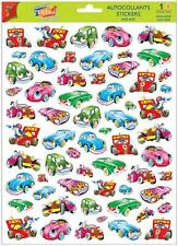 A4 Sticker Sheet Cute Cars - Scrapbooking & Cardmaking Over 50 Images
