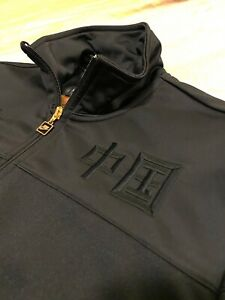 Ultra Rare! NIKE Track & Field Team Jacket Zip Up. Team China Blacked Out Gold.