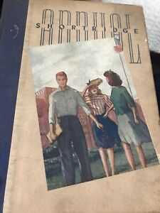 """Shortridge """"Annual"""" High School Yearbook, Indianapolis, Indiana, 1941"""