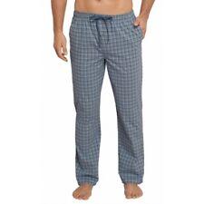 Schiesser Men's Mix & Match Cotton Relaxed Pyjama Bottoms Large - Blue