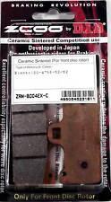 PASTIGLIE FRENO ZCOO 45B00401 MESCOLA EX-C - PIÙ PRONTA - (1 COPPIA PER 1 DISCO)