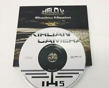 KIRLIAN CAMERA CD: HELD V SHADOW MISSION . AUTOGRAFATO.