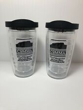 Tervis Tumbler 16 oz. with Black Lid Set of 2 ~ NEW