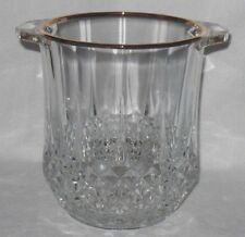 Cristal D'Arques LongChamp Gold Crystal Champagne Ice Bucket