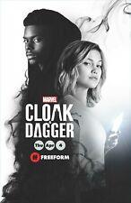Cloak & Dagger poster (e) - 11 x 17 inches