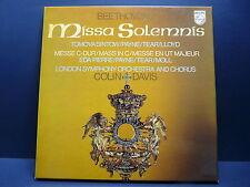 BEETHOVEN Missa Solemnis COLIN DAVIS Coffret PHILIPS 3X33 tours 6769001