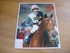 Michael ROBINSON  Horse Racing Jockey 7/4/98  Original Hand SIGNED Press Photo