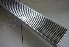 Brand New Streamline HANDMADE Shower Floor Long Waste Grate Drain 900mm