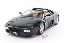 Hot Wheels Elite Ferrari 348 ts 1:18 Diecast Black X5481