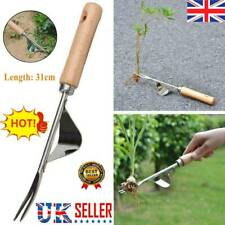 More details for manual hand weeder weeding weed remover puller tool fork lawn garden tool uk