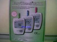 EasyTouch Glucose Cholesterol Hemoglobin Portable Blood Multi Monitor System