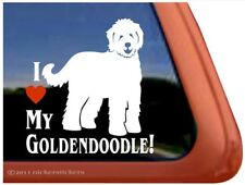 I Love My Goldendoodle | High Quality Vinyl Dog Window Decal Sticker