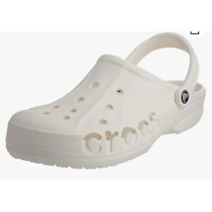 Crocs Classic White Clogs for Women, Size 8 NEW