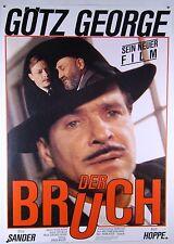 Der Bruch THE BREAK Götz George, Otto Sander - Filmplakat DIN A1 (gerollt)