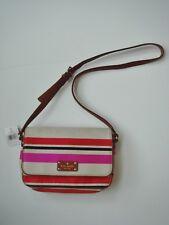 NWT KATE SPADE Finn Oak Island Stripe Canvas Crossbody Handbag