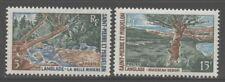 St Pierre & Miquelon 1969 Landscapes set Sc# 383-84 Nh
