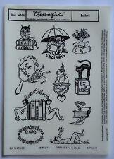 DDR Kult Typofix Haftdruckabreibfolie Saalfeld Rubbelbilder 4366 Exlibris