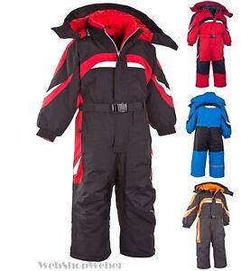 Schneeanzug Skianzug Schneeoverall Winteranzug Skioverall Kinder Grössen 80-164