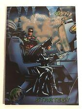1995 DC Comics Batman Forever Metal Trading Card #84 Strategy