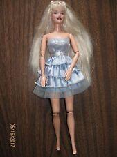 Pivotal Articulated Elbows & Legs Long Hair Barbie Doll