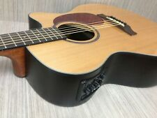 Maestro Solid Cedar Top,OM Shape Acoustic Guitar,Cutaway,EQ+Free Bag. 08CEQ/CN