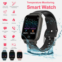 Sport Smart Watch Blood Pressure Heart Rate Temperature Monitor Fitness Tracker